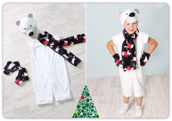 Новогодний костюм Белый Медведь